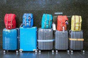 lifting luggage