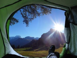 tent camping, travel