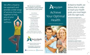 Wellness Services Brochure