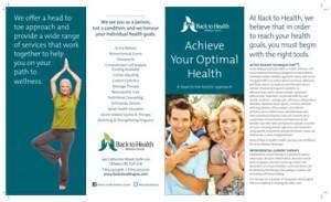 Wellness Services Brochure