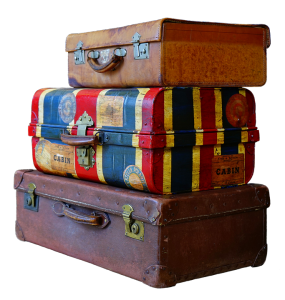 Travelling suitcases
