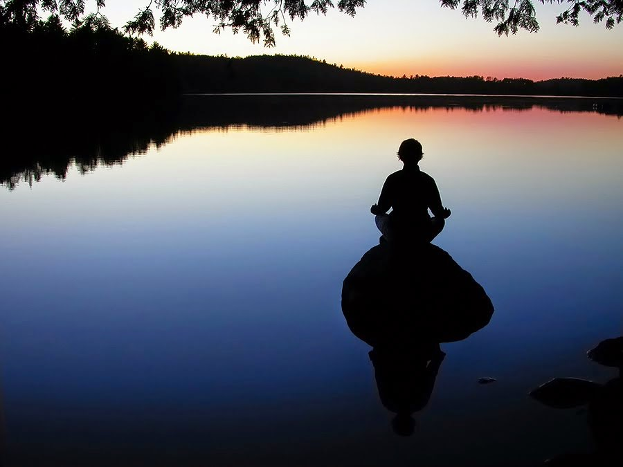 Finding a quiet moment and relieving stress