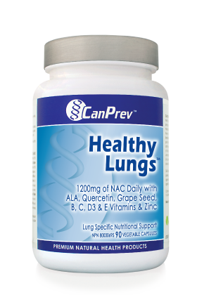 Healthy Lungs, CanPrev, lung health, antioxidant, lung detox