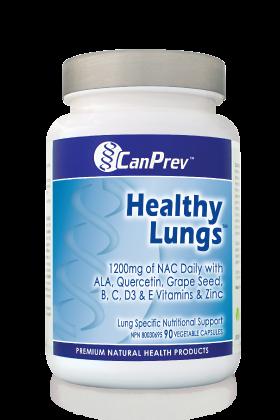Healthy Lungs, CanPrev, lung health, antioxidant, lung detox
