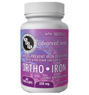 Ortho-Iron, supplement, iron, mineral, multi-vitmain