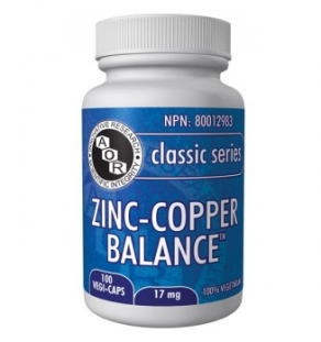 Zinc-Copper Balance, zinc, immune support, copper, vitamin, supplement, antioxidant, cholesterol balance,