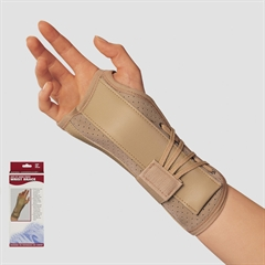 Suede Finish Wrist Brace, wrist brace, wrist support, wrist compression, braces