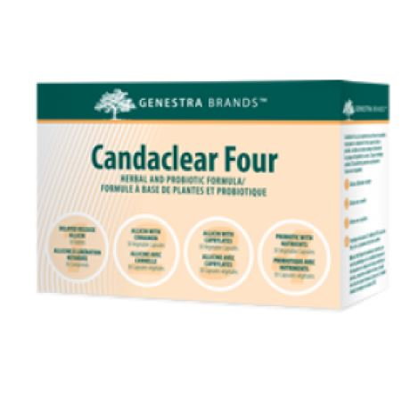 Candaclear Four, probiotic, probiotics, gut health, gut support