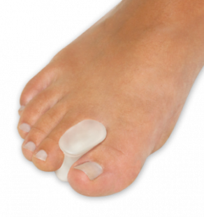 Gel Toe Spreaders, foot health, bunions, toe drift, overlapping toes, foot pain, toe pain