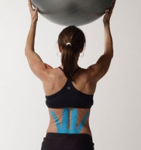 SpiderTech, Lower Back Tape, Lower Back Support, athletic recovery, athletic tape