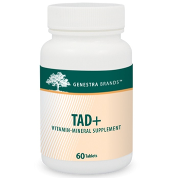 TAD+ - 60, mulit-vitamin, supplement, minerals