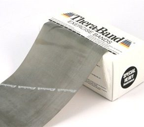 TheraBand Exercise Bands grey, exercise bands, strengthening and exercise