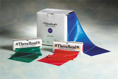 TheraBand Exercise Bands, exercise bands, exercise and strengthening