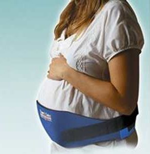 Trainer's Choice Pregnancy Back Belt, back belt, back support, pregnancy back brace, adjustable pregnancy back brace, pregnancy