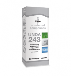 Unda #243, supplement, homeopathic remedy, liver support, detoxification, hepatic support, hepatic congestion
