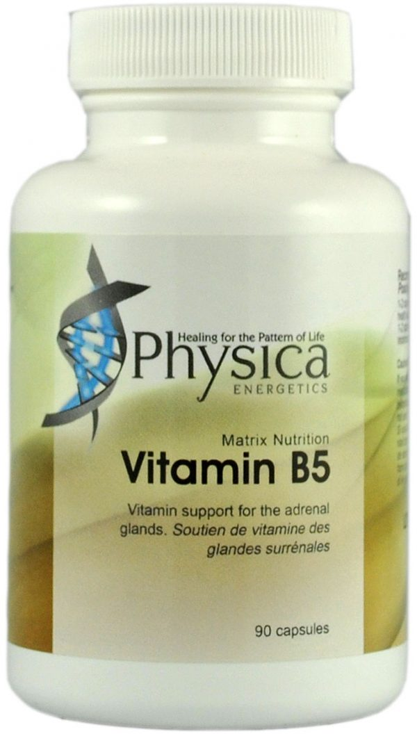 Vitamin B5, vitamin, arthritis, insomnia, neuromuscular, supplement, anti-stress, adrenal support,