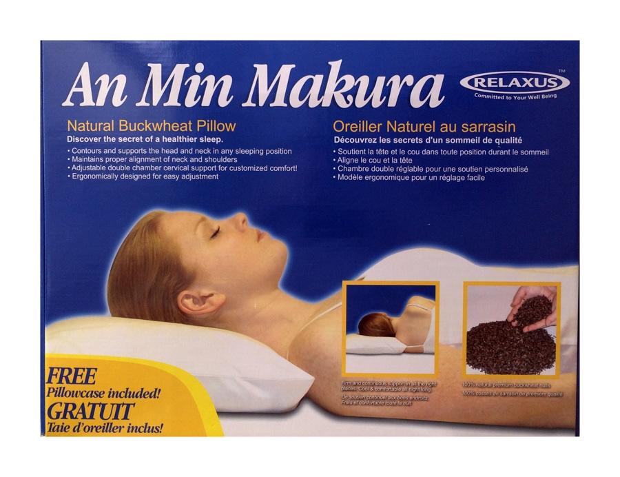 Makura Buckwheat Hull Pillow