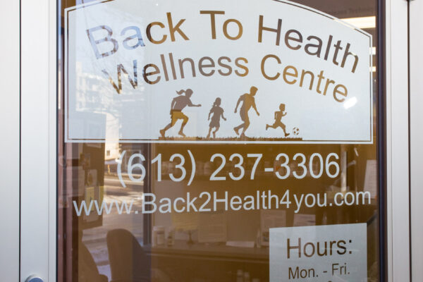 back to health, chiropractic ottawa