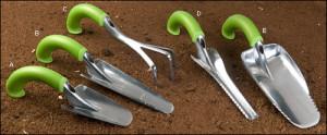gardening tools, ergonomics of gardening, gardening