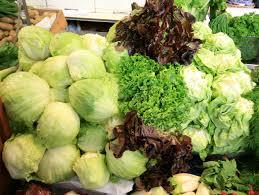detox vegetables, lettuce, kale, cabbage, detox