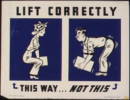 lifting correctly, lifting, injuries to the abck