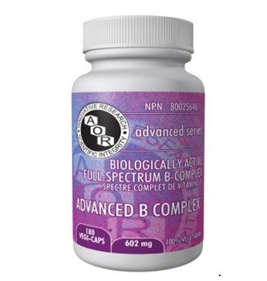 Advanced-B-Complex, B-vitamin, B supplement,