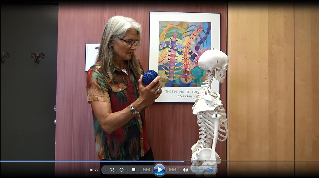 Shoulder pain Video, acuball, acuball mini