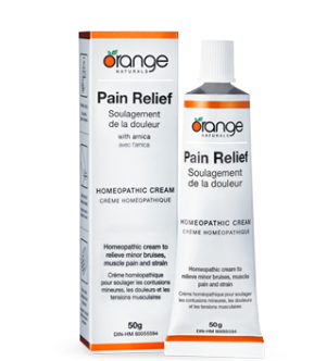 Pain relief cream orange naturals