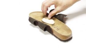 met pad sandal