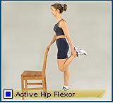 active hips flexor