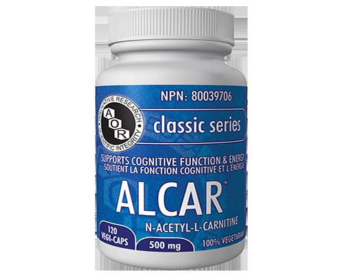 alcar, aor, cognitive health, brain health, cognitive support, chronic fatigue
