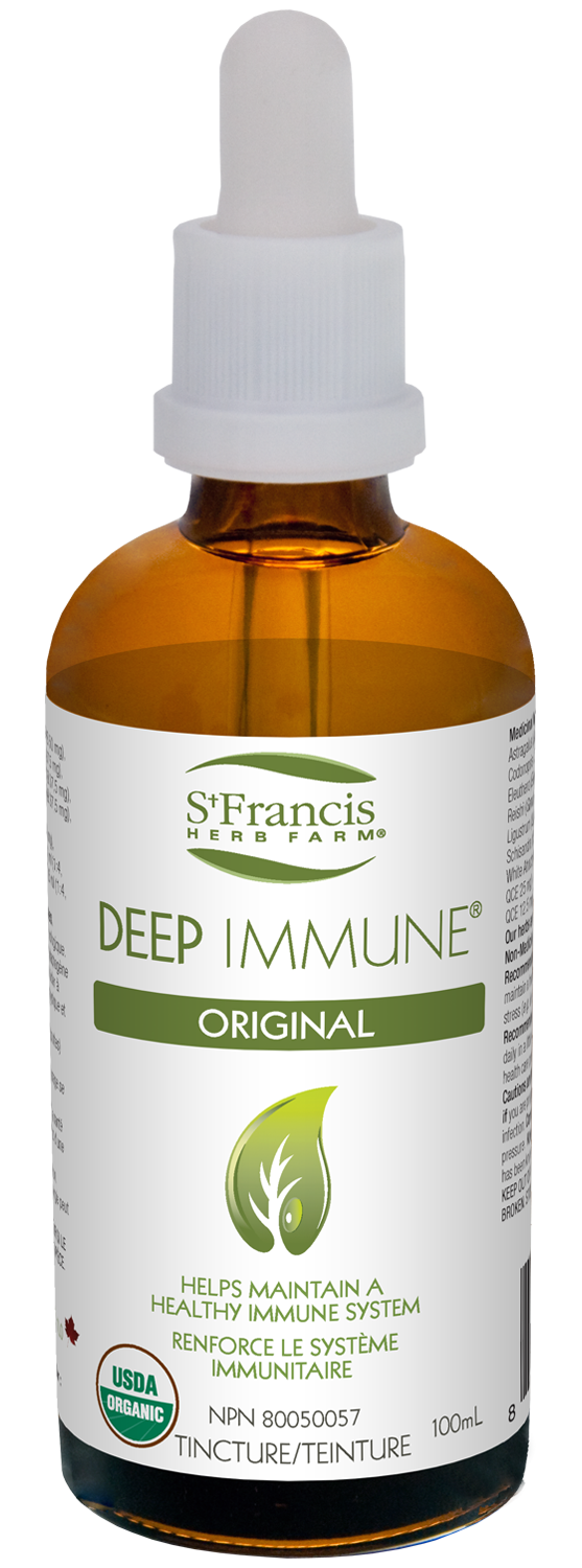 Deep Immune, immune system, stress, immune support, stress relief, adrenal support