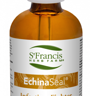 EchinaSeal, st. francis, respiratory health, respiratory infection, throat infection, mouth infections, throat and mouth health
