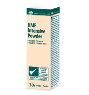 HMF Intensive Powder, Genestra, supplement, probiotic, gastrointestinal health, gut health, probiotic powder