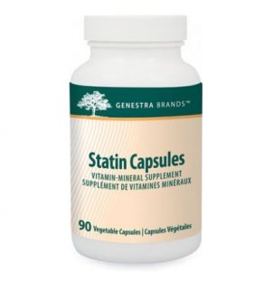 Statin, capsule, genestra, antioxidant, supplement,