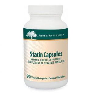 Statin, capsule, genestra, antioxidant, supplement,