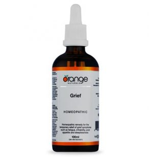 grief sadness orange naturals