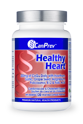 Healthy Heart canprev, heart rhythem, blood pressure, cholesterol, supplement, heart function, circulatory health, cardiovascular health