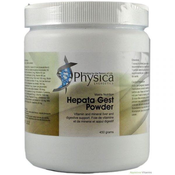 Hepata Gest, detoxification, physica, supplement, liver health, liver detoxification, Phase I and Phase II detox, digestive health