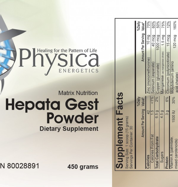 Hepata Gest Powder Facts