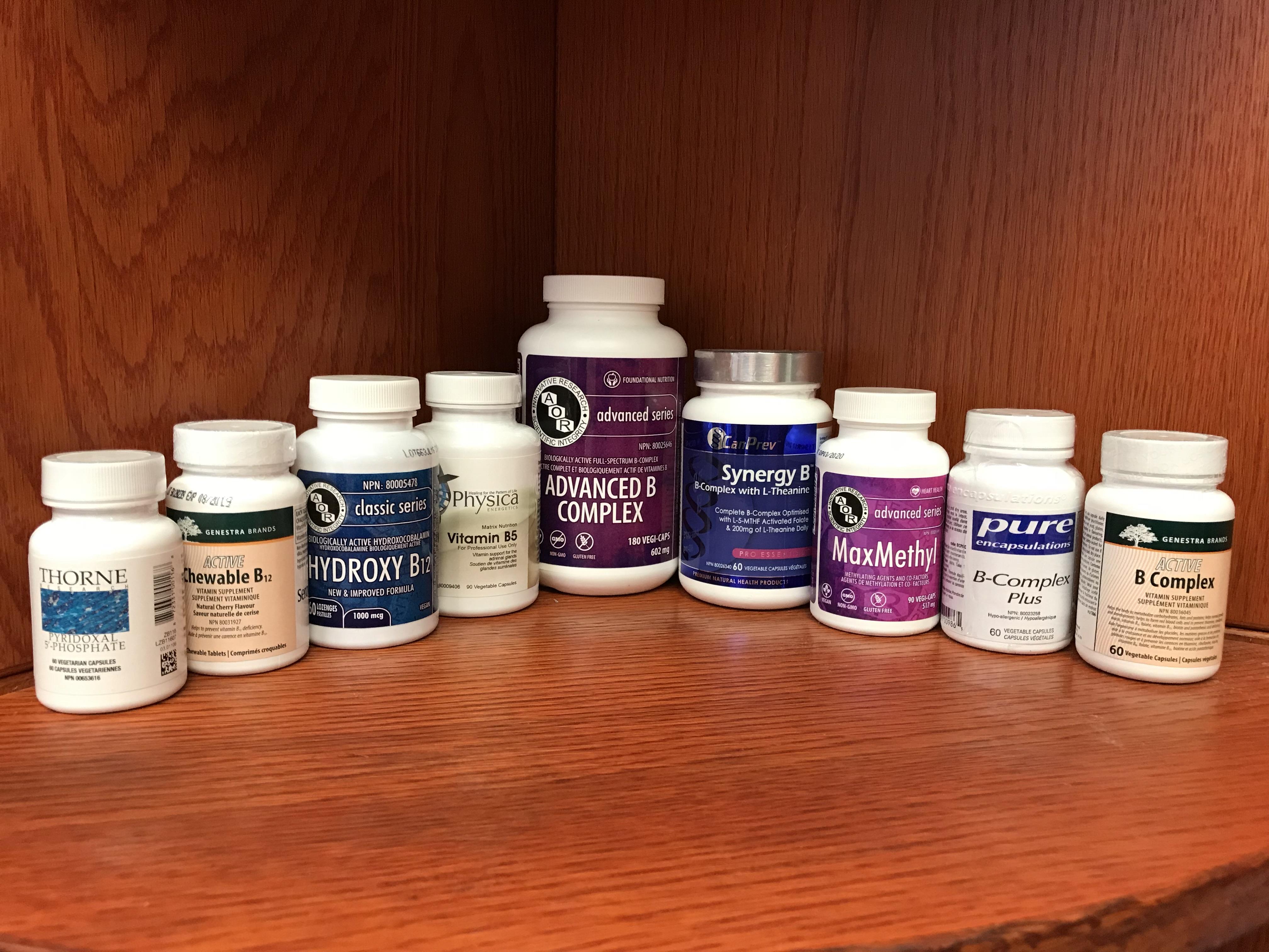 B-Vitamins at Back to Health