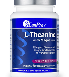 L-Theanine , CanPrev, supplement, sleep aid, stress, stress releiver, relaxation