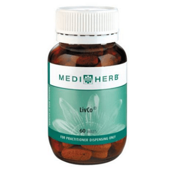 LivCo MediHerb liver, supplement, liver support, liver health, liver detoxification, detox, detoxification, digestive health, gut health, antioxidant
