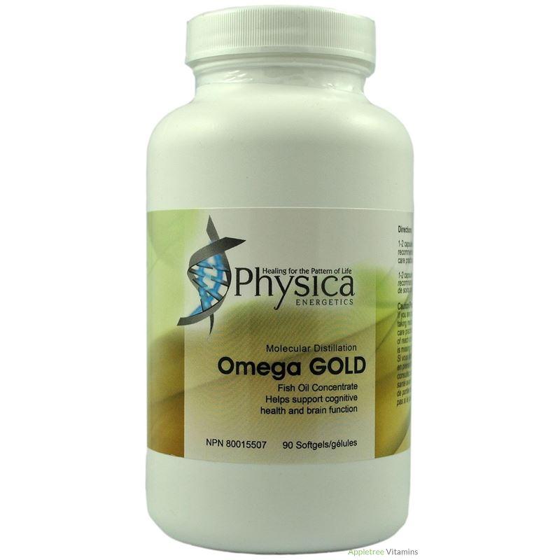 omega gold, physica, fish oil, supplement, antioxidant, anti-inflammatory, memory, mood, cardiovascular health, hormones