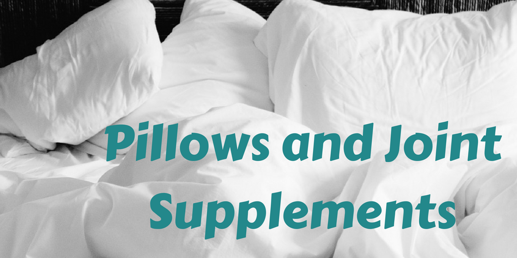 August Promotions: Pillows and Joint Supplements