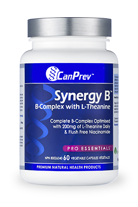 Synergy B canprev, supplement, B vitamin, B complex, antioxidant
