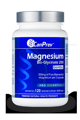 Magnesium Glycinate, magnesium, supplement, CanPrev, magnesium supplement, mineral supplement